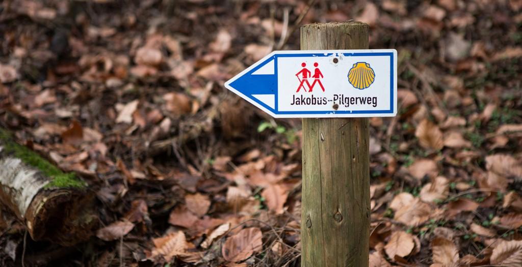 jakobsweg-wegweiser