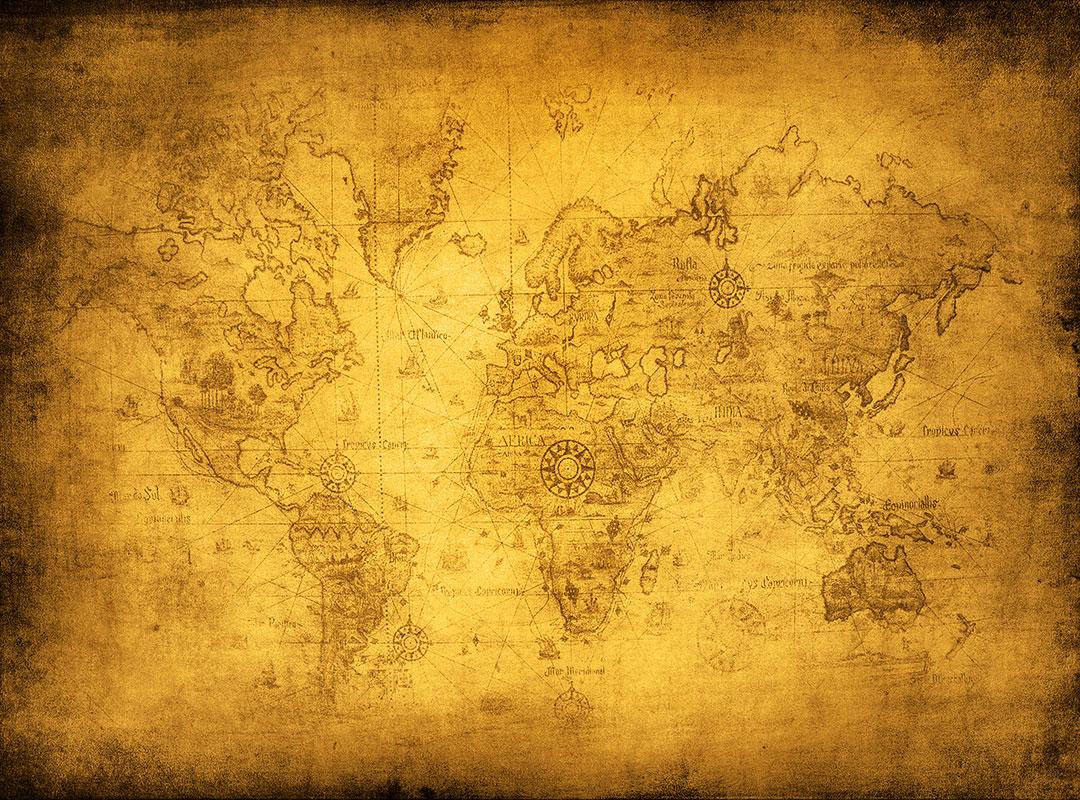 Pilger Weltkarte